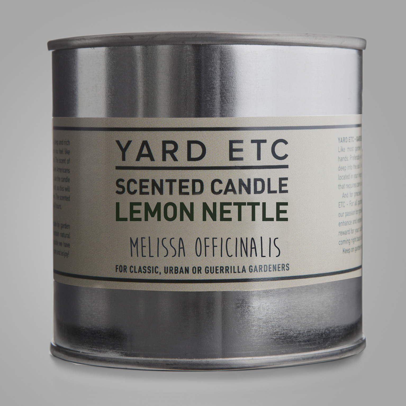 Yard Etc Scented Candle